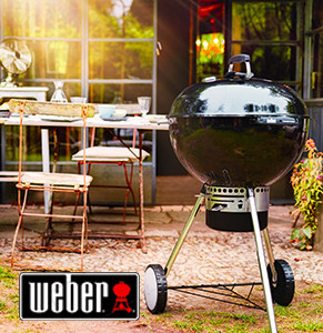 Kulisty grill Weber
