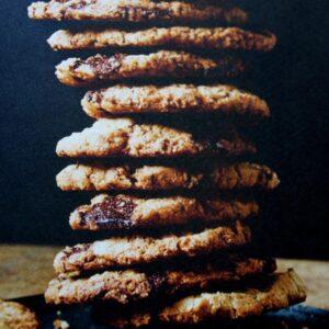 Ciasteczka owsiane z grilla