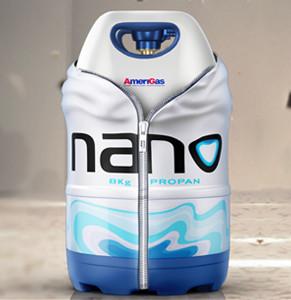 Butla gazowa NANO [red]bezpieczna i lekka[/red]